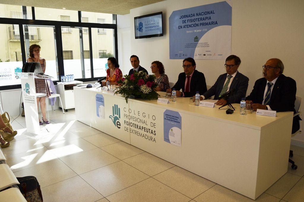 Fisioterapeutas de toda España se dan cita en Badajoz para reclamar mejoras y consenso en la atención primaria